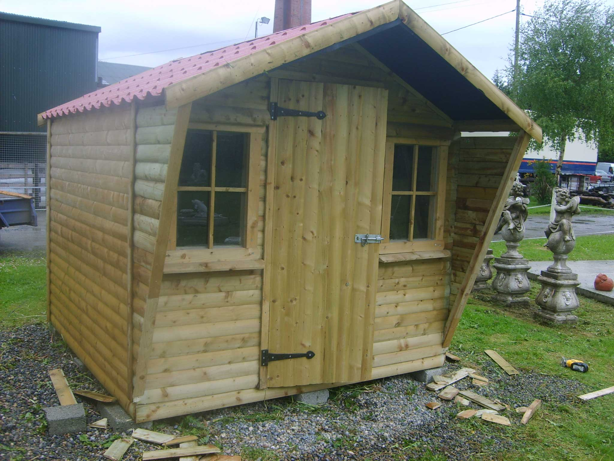 Fair 30 garden sheds 8x8 inspiration of best 25 8x8 shed for Garden shed 8x8